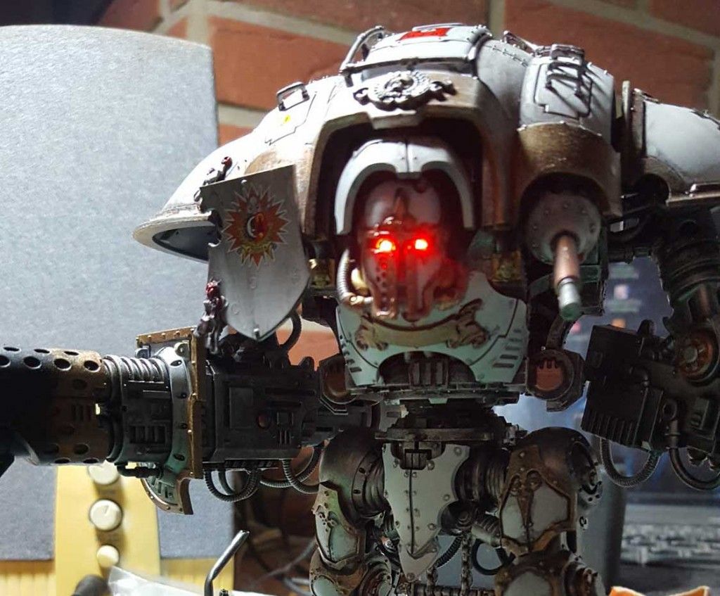 Imperial Knight with LED Lights