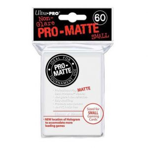 Pro Matte Small Sleeves White