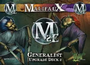 Malifaux: Generalist Upgrade Deck 2