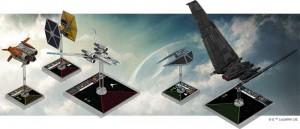 U-Wing und Tie-Striker