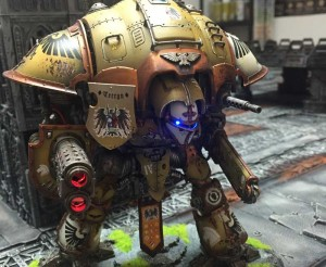 Imperial Knight mit LEDs